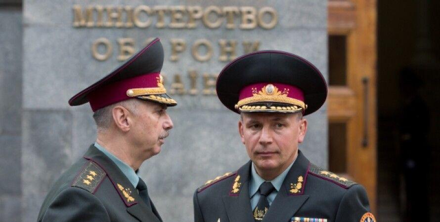 Михаил Коваль и Валерий Гелетей / Фото пресс-службы президента Украины