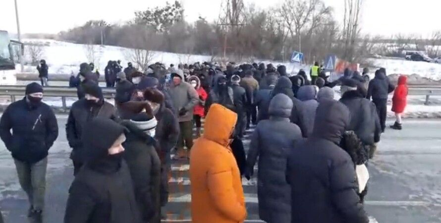 Лубны, Полтава, тарифы, протест,