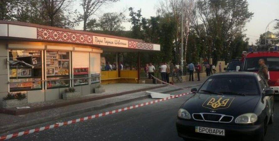 """Остановка """"Развилка"""" в Броварах / Фото: Facebook"""