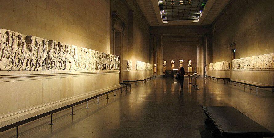 Экспозиция собрания Элгина в Британском музее: Фото: commons.wikimedia.org