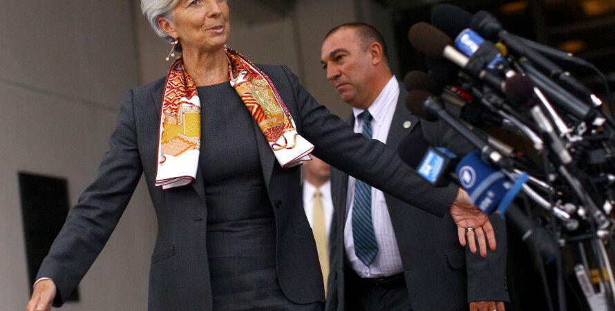 Глава МВФ Кристин Лагард / Фото: Getty Images