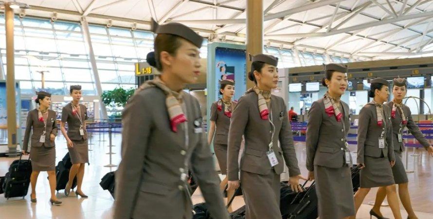 стюардеси, авіалінії, відгул, Південна Корая, менструація