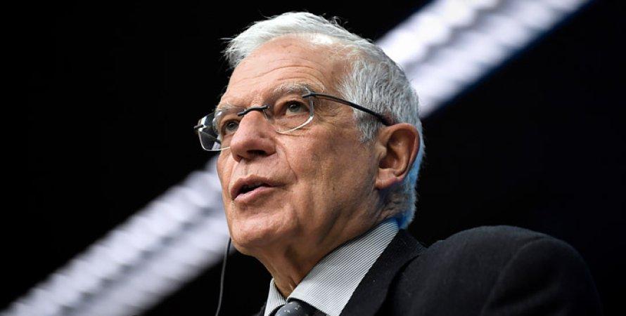 Жозеп Боррель, Північний потік-2, Єврокомісія, США, Санкції, Приватні компанії