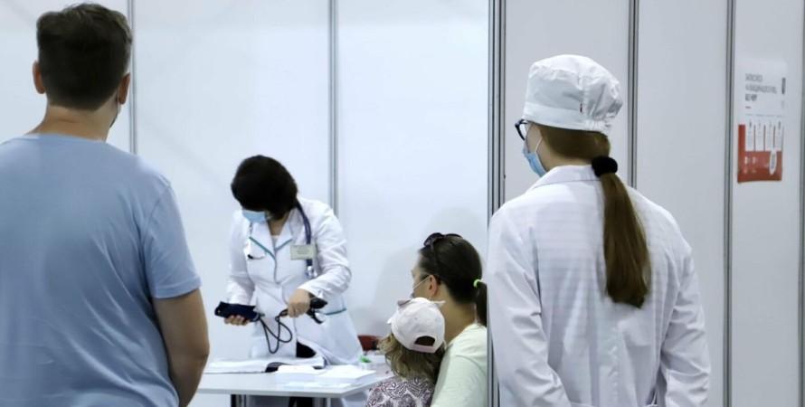 Київ, вакцинація, коронавірус,