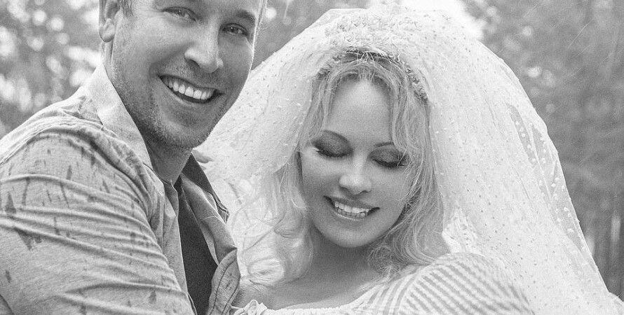 памела андерсон, свадьба