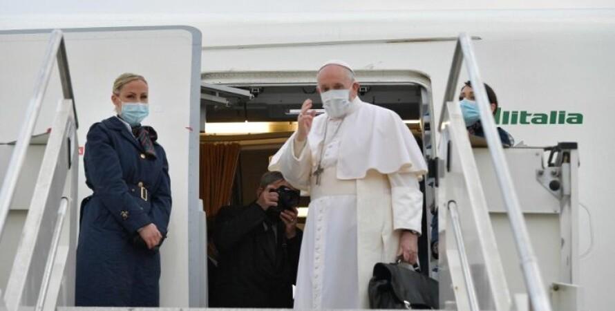 Папа Римський, Франциск, візит, ірак, поїздка, коронавірус, фото