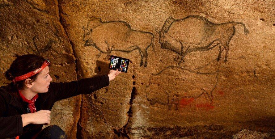 наскальные рисунки, пещера, испания, ковасиелла