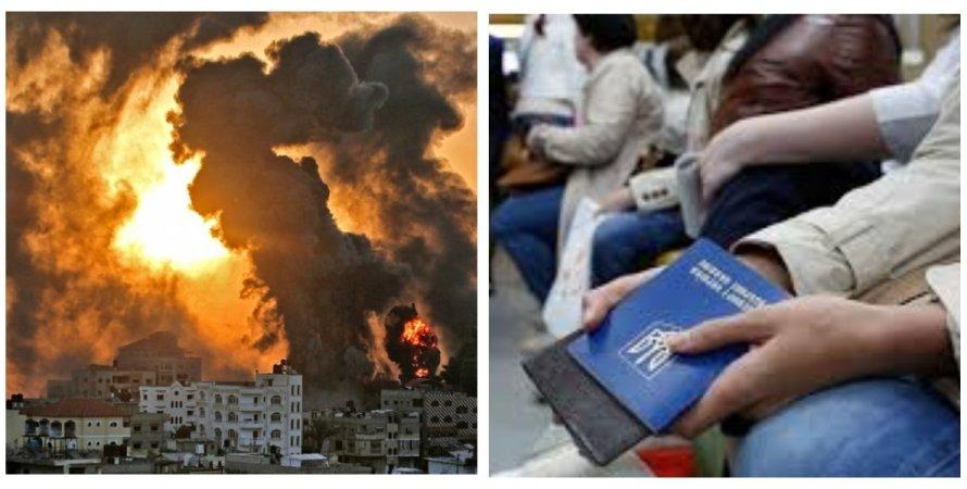 Сектор Газа, украинцы, конфликт израиля с хамас, цахал