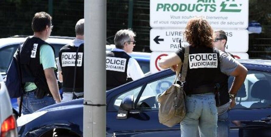 Полиция на месте теракта / Фото: AFP