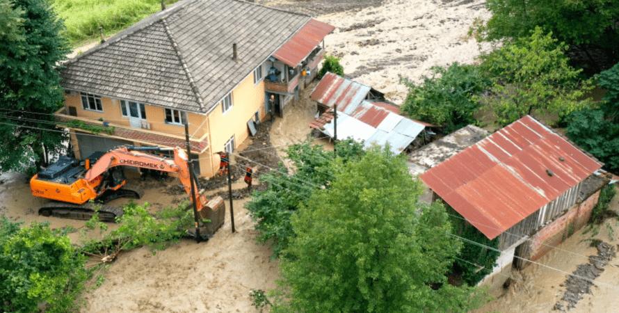 Повінь у Туреччині, катаклізм, паводки, дощ, Чорноморський регіон