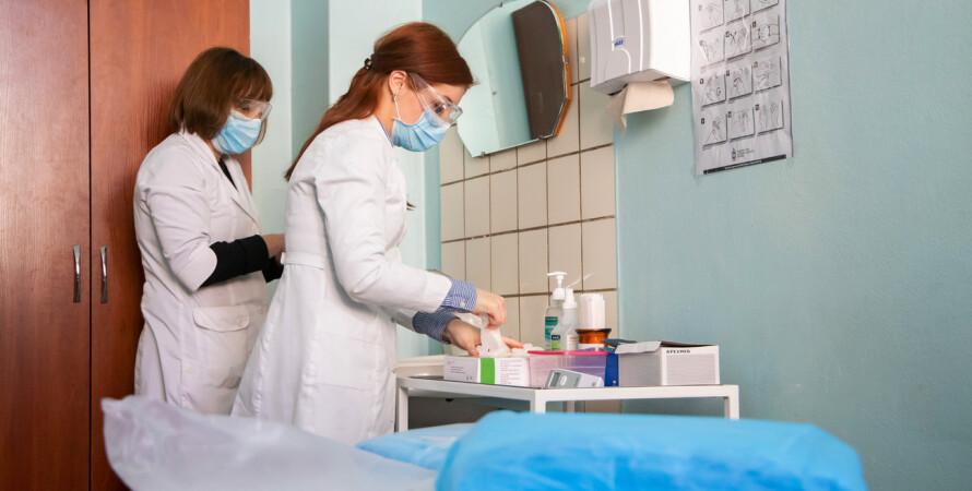 коронавірус, Україна, лікарі, лікарні