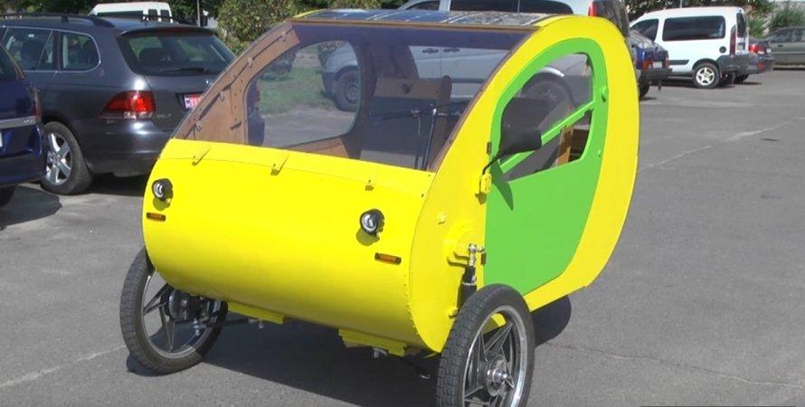 самодельный электромобиль МЭМ-01, самоделка