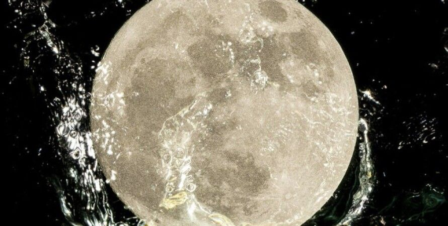 Місяць, Земля, вода, магнітосфера