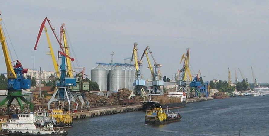 Херсонский морской порт/Фото: Kherson.life