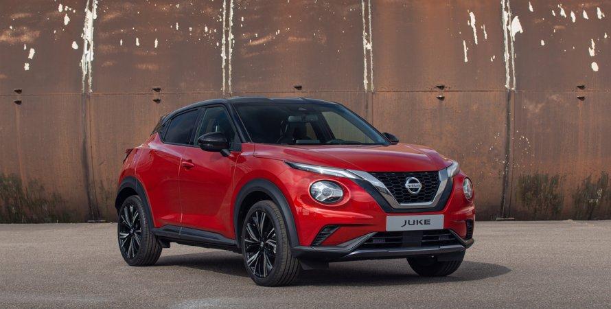 цены Nissan Juke нового поколения
