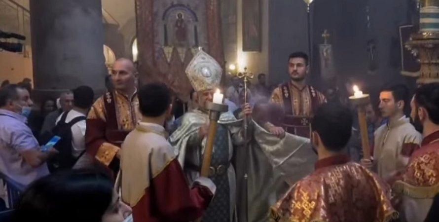 Схождение благодатного огня, Иерусалим