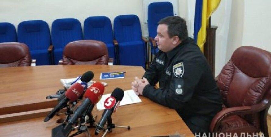 Начальник ГУ Нацполиции в Киевской области Дмитрий Ценов