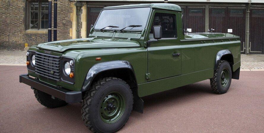 Катафалк Land Rover, Land Rover принц Филипп