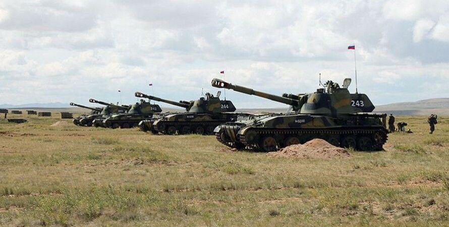 Российские танки на военных учениях / Фото Минобороны РФ