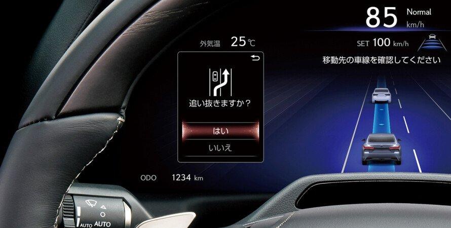 Автопілот Toyota, Toyota представила автопілот