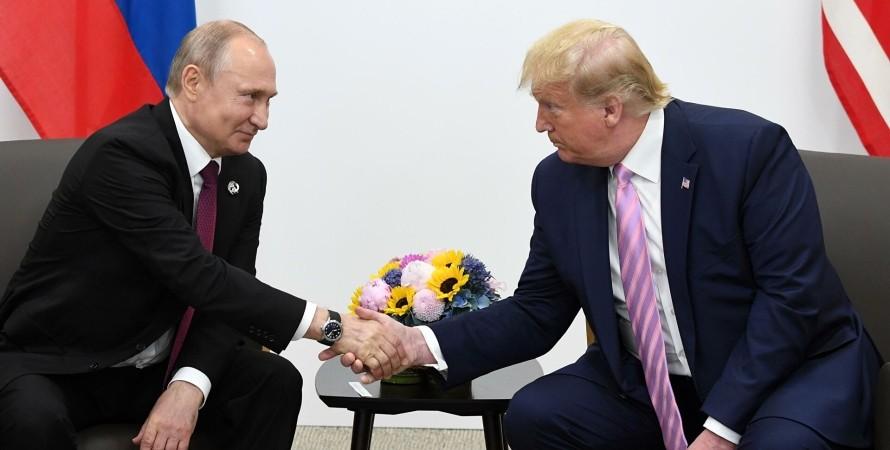 Путін і Трамп, путин, трамп, росія, російський слід, втручання у вибори, вибори сша, путин підтримав Трампа