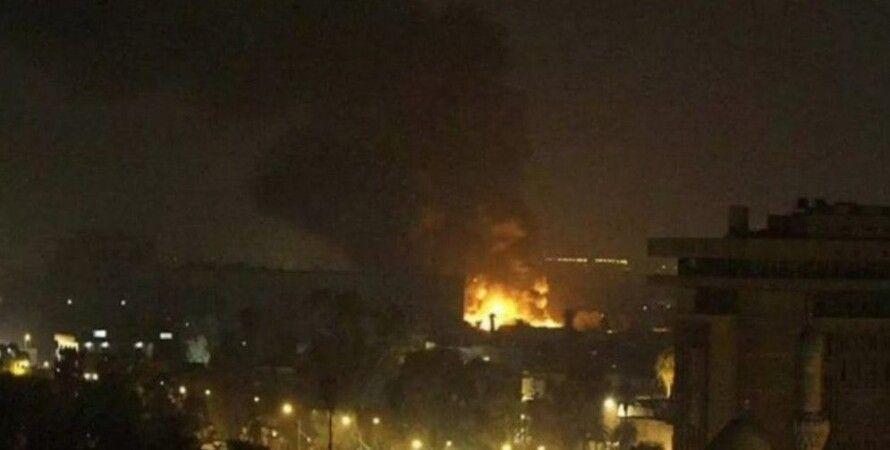 атака, нападение, сирия, авиаудар, сша, великобритания, рф, иран