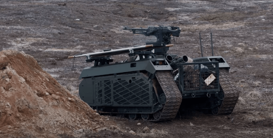 робот, боевой робот, военные учения