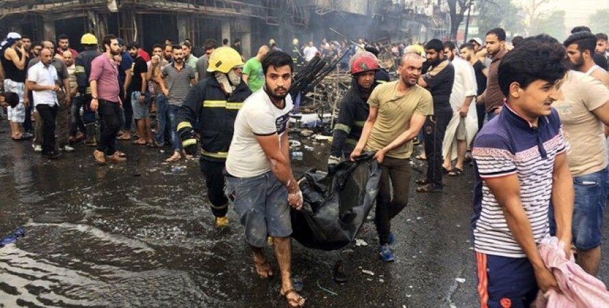 Последствия взрывов в Багдаде / Фото: twitter.com/timesofindia