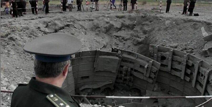 Уничтоженная шахта МБР SS-24 в Украине / Фото: Business Intelligence + KMS