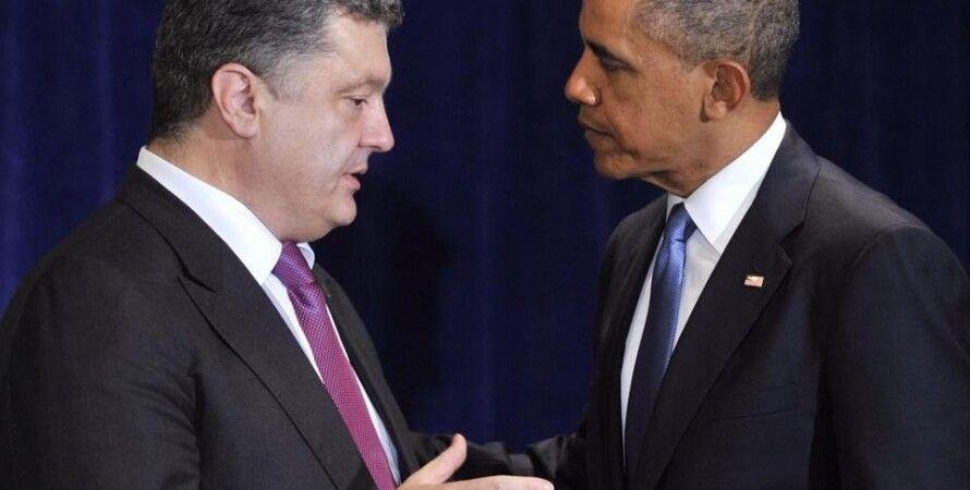 Петр Порошенко и Барак Обама / Фото: facebook.com/petroporoshenko