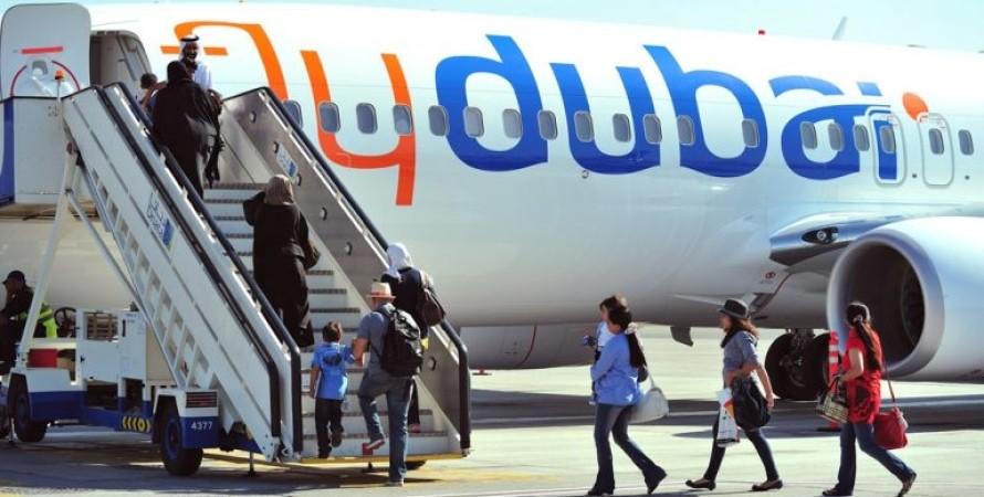 самолет, flydubai, фото