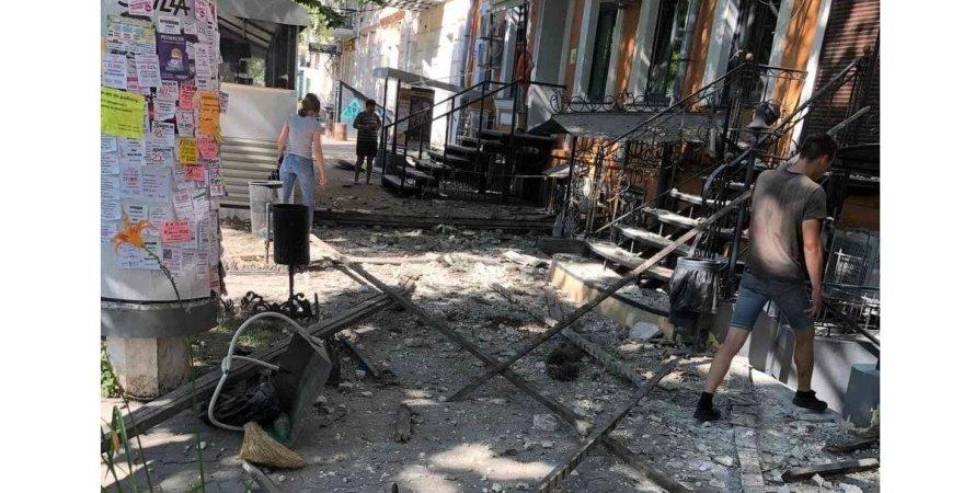 Обрушение дома, Одесса
