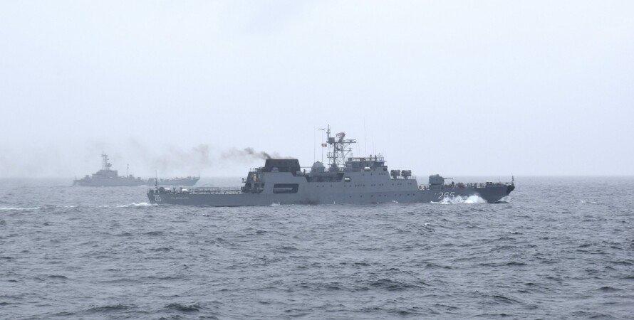 вчення моряків, румуно-українські навчання