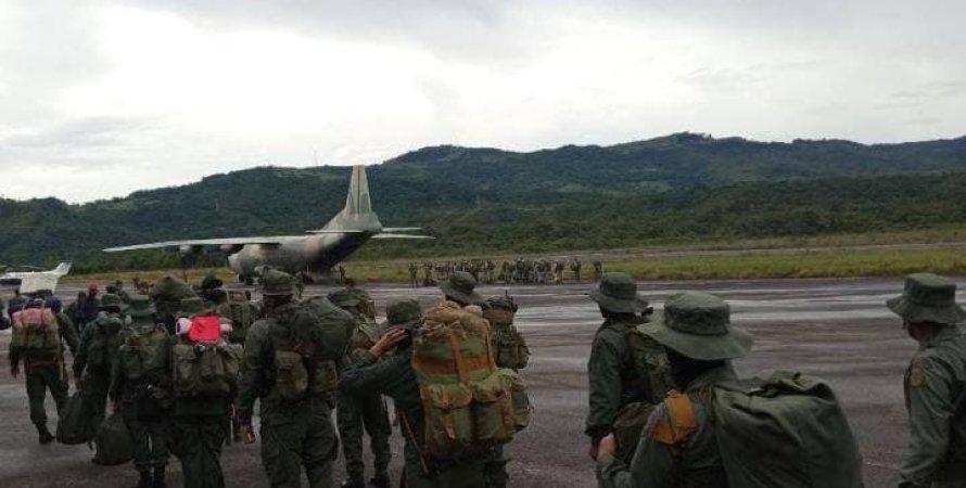 Колумбія, венесуела, Кордон, FARC
