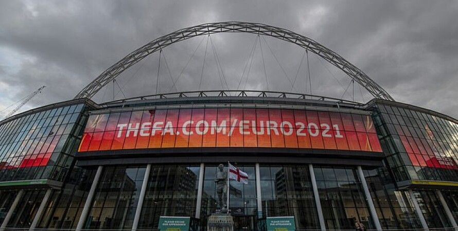 Стадион Уэмбли в Лондоне/Фото: Daily Mail