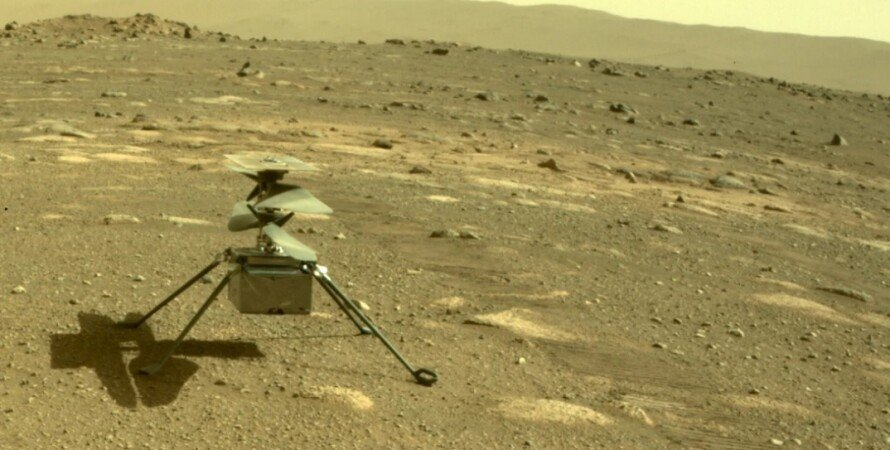 Ingenuity, веторлет, марсоход, NASA, Марс, Perseverance