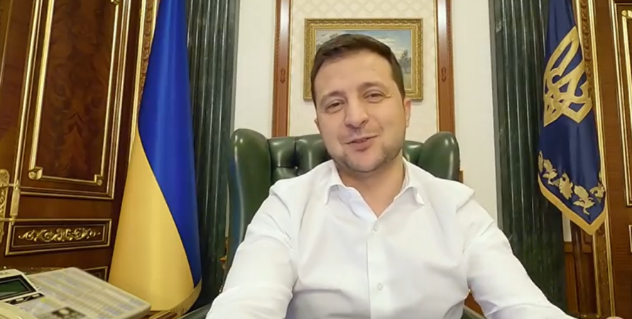 президент Зеленский видеоблог