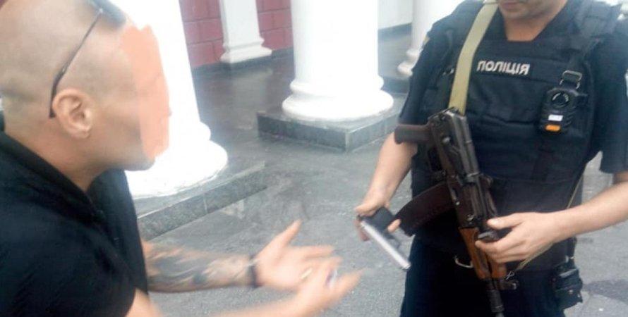 Стрельба, Одесса
