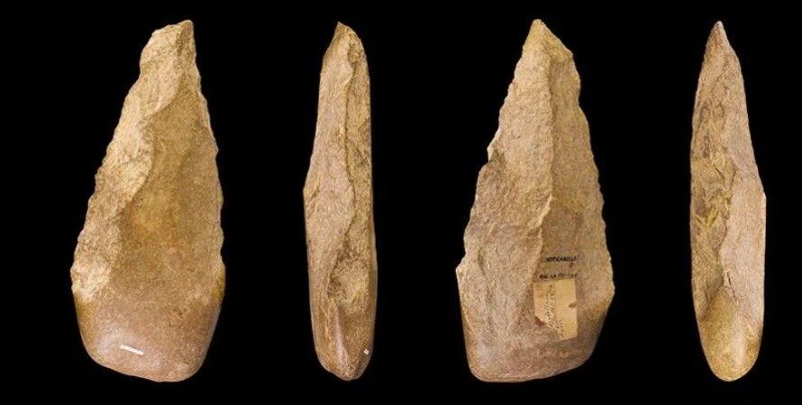 каменные орудия, древние люди