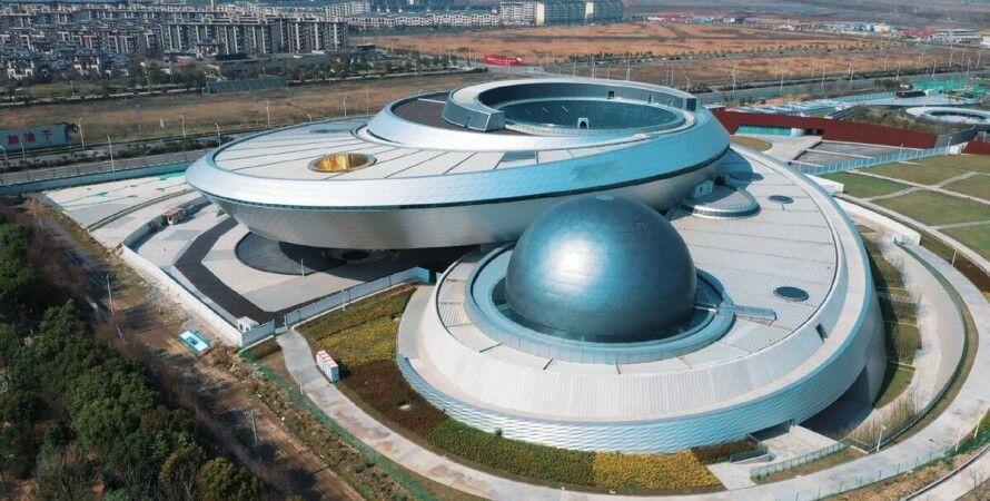 планетарій, Шанхай, Китай