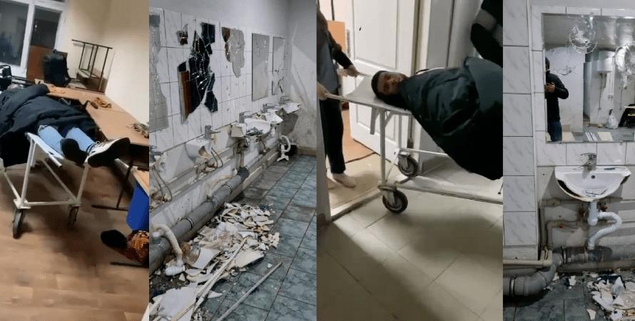 Харьков, арабы, студенты, экономический, драка, туалет, общежитие