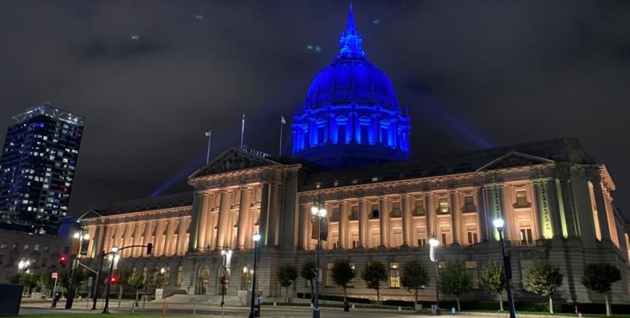 Мэрия Сан-Франциско, сша, визит зеленского