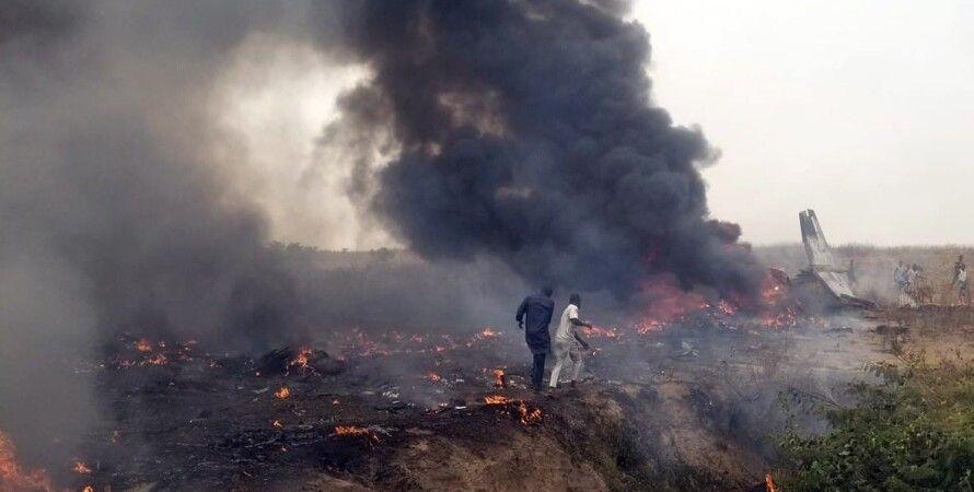 ввс Нігерії, катастрофа літака в Нігерії