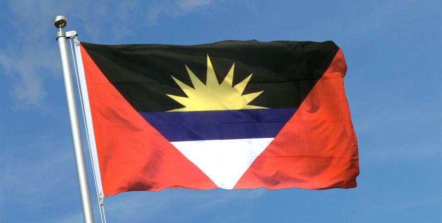 Флаг Антигуа и Барбуда / Фото: royal-flags.co.uk
