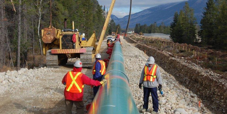 канада, строительство, трубопровод, экологи