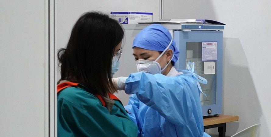 Китай, коронавірус в Китаї, вакцинація в Китаї