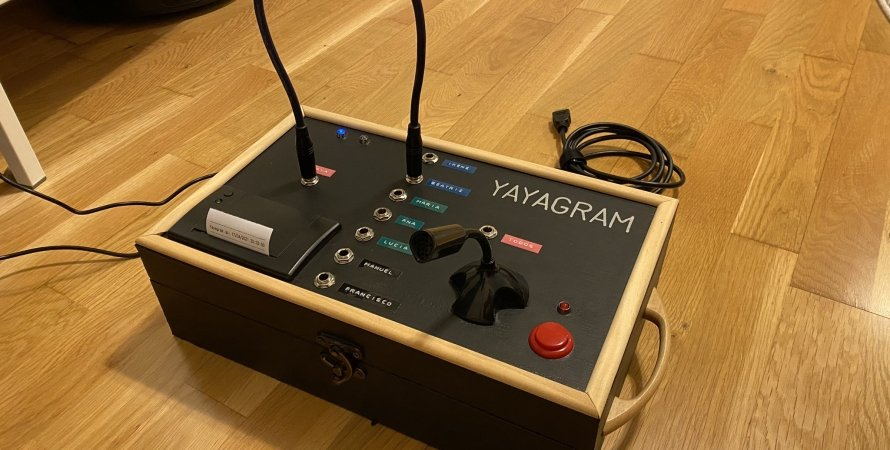 Yamagram, коммутатор, общение, устройство, Telegram