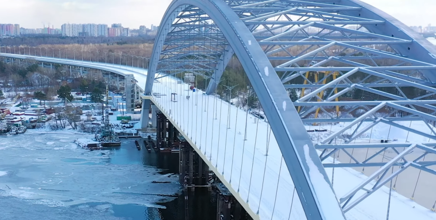 дата сдачи подольско-воскресенского моста, строительство моста в киеве