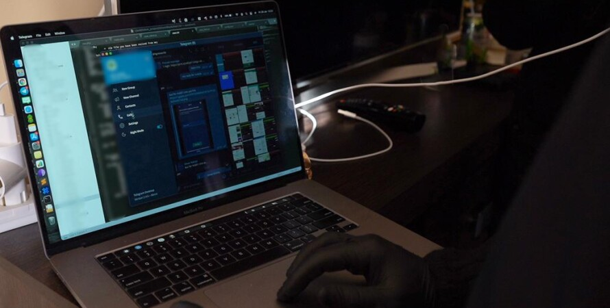 конфискованный ноутбук, преступная деятельность в Тернополе