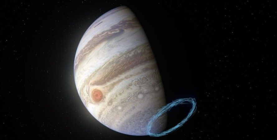 Юпітер, стратосфера, вітер